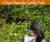 5 days gorilla trekking rwanda
