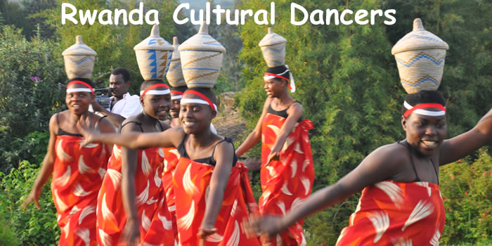 Cultural Dancing in Rwanda