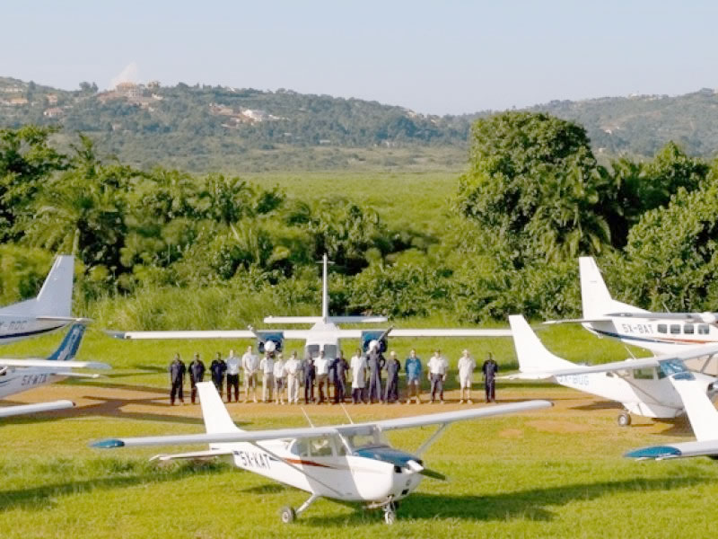 Air Charters in Uganda To National Park