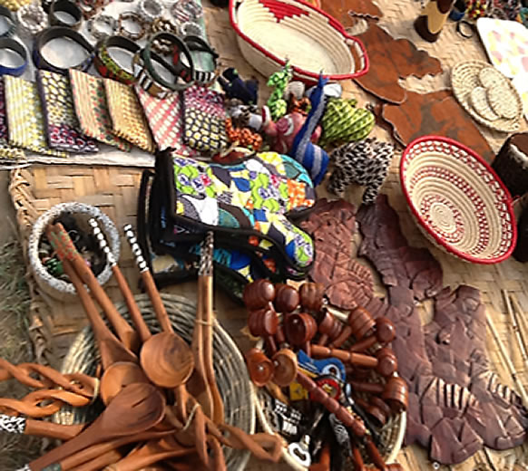 Crafts centers in kampala for African arts and crafts