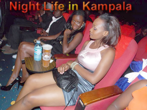 The night in Kampala Uganda