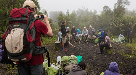 4 Days Gorilla safari Congo Mount Nyiragongo hiking tour/ Mikeno Mist package
