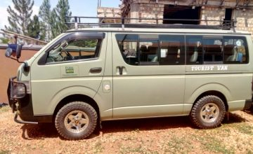 4X4 Safari Vans For Hire in Uganda