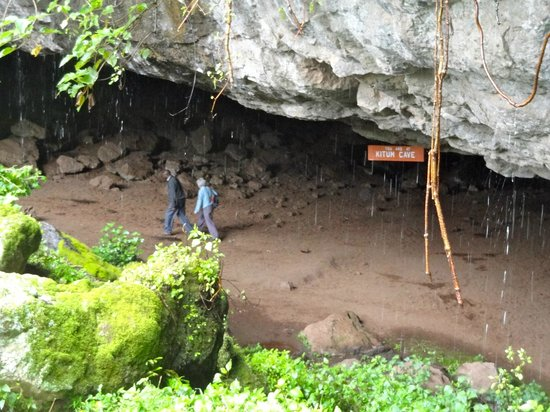 Caves in Mount Elgon National park