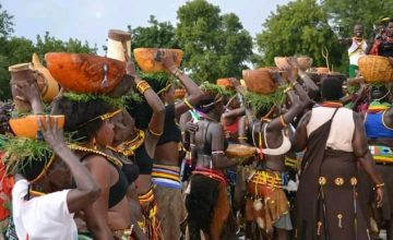 Cultural Performance in Kidepo Valley National Park Uganda