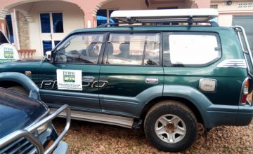 The 4X4 Ordinary Land Cruisers for Hire in Uganda Rwanda